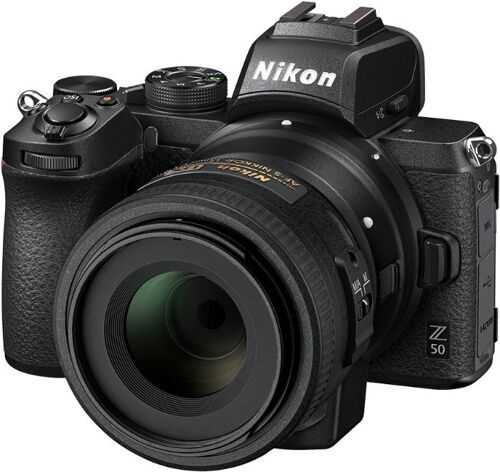 Nikon Z50 kit Nikkor Z DX 16-50mm f/4.5-6.3 VR (меню на русском языке)