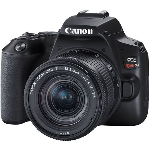 Canon EOS 250D kit EF-S 18-55 IS STM (Rebel SL3) меню на русском языке.