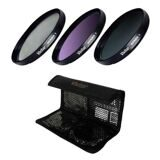Набор cветофильтров Vivitar VIV-FK3-58 58mm Multi-Coated Filter Kit UV/CPL/FLD